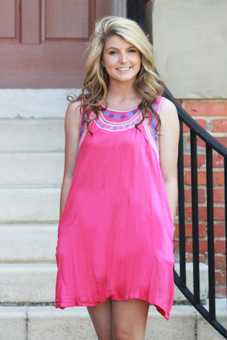 Love Bound Dress - Pink