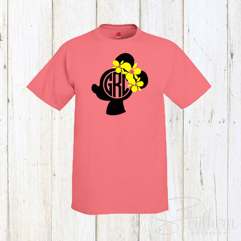 Minnie Mouse Monogram Shirt
