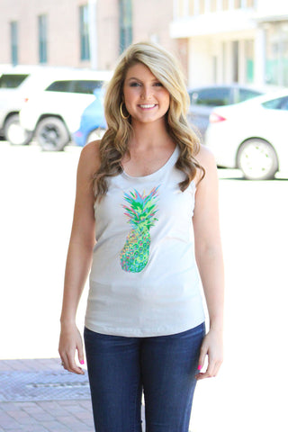 Feed The Artist: Pineapple Tank Top