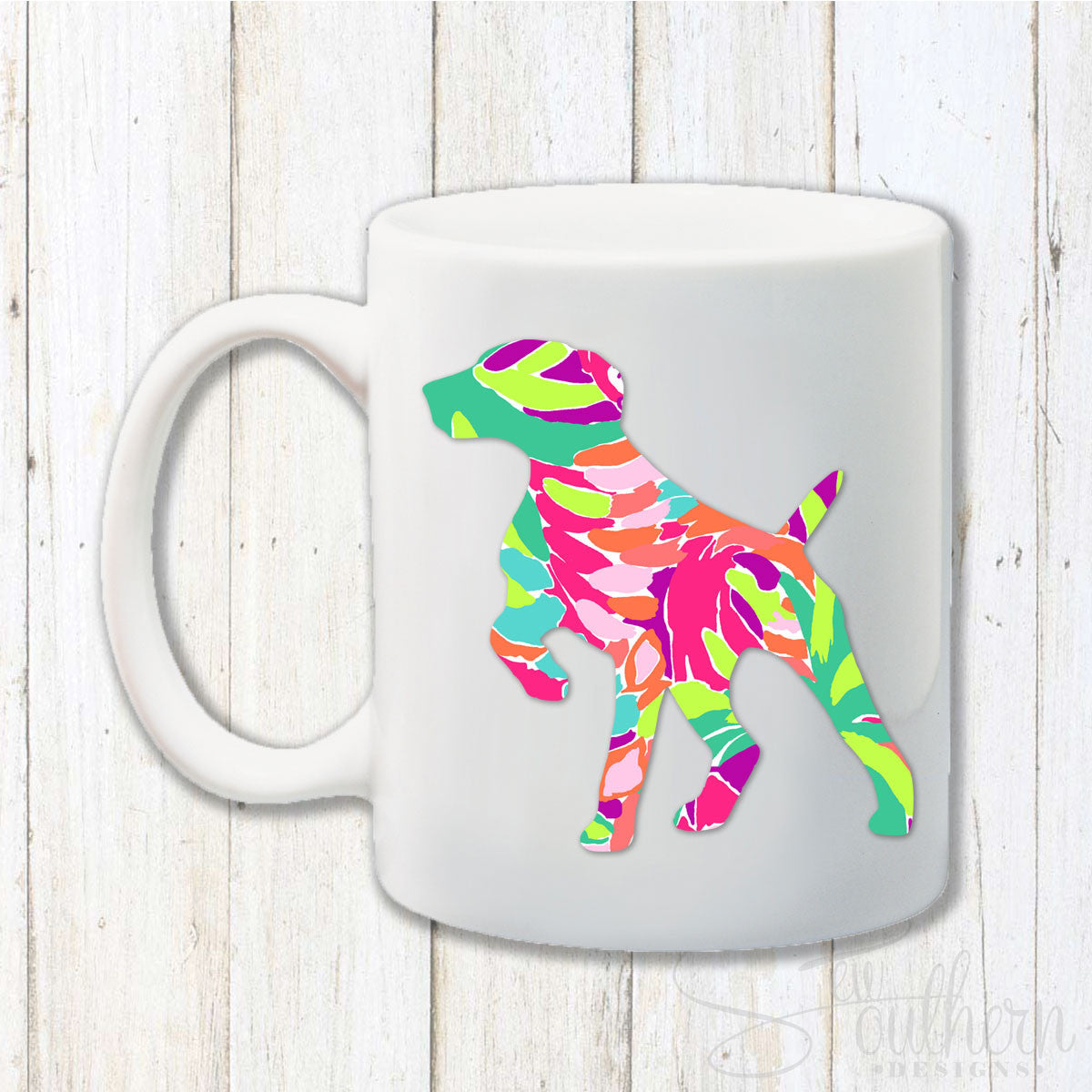 Lilly Pointer Dog Coffee Mug