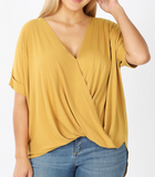 *SALE* Knowing You Draped - Top