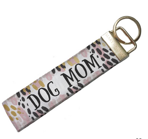 Dog Mom Key Fob