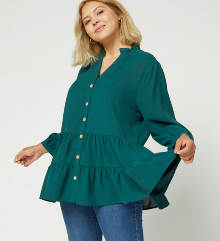 Classic Charm Tiered - Top