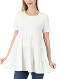 DEAL | Basic Days Tiered Babydoll Top