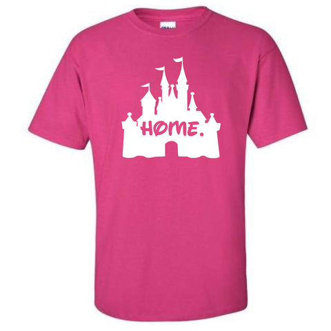 Disney Castle Home Shirt - SHORT SLEEVE