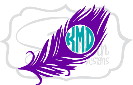 Feather Monogram