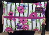 Makeup Junkie Bag - Petunia Plum