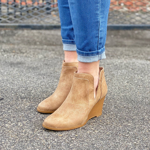 Nina Wedge - Booties