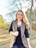 On The Wild Side Vest - Leopard