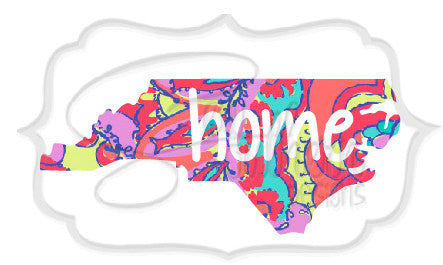 Lilly State Home Decal