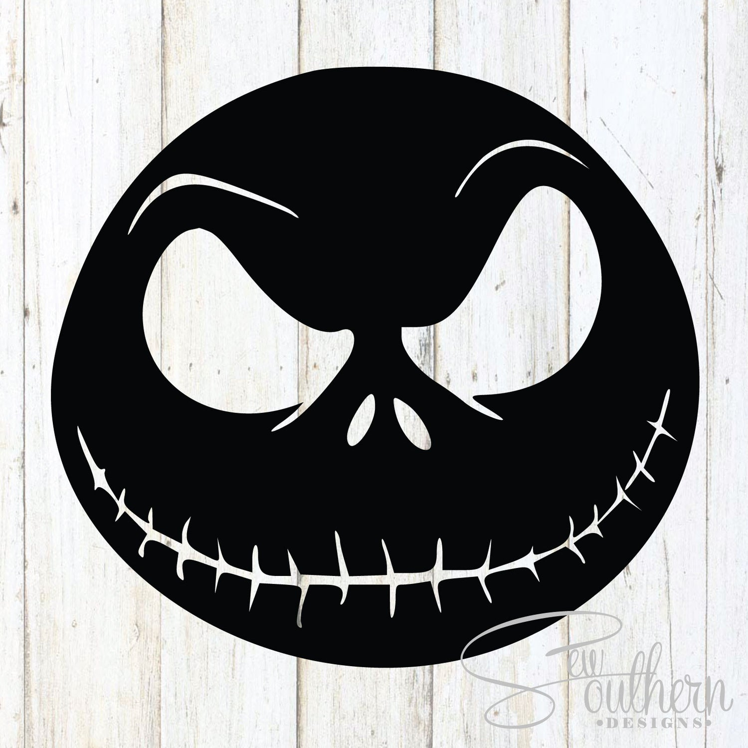 Nightmare Before Christmas Decal