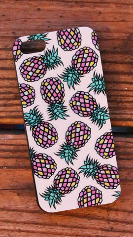 Colorful Pineapple Phone Case (iPhone 5/5s)