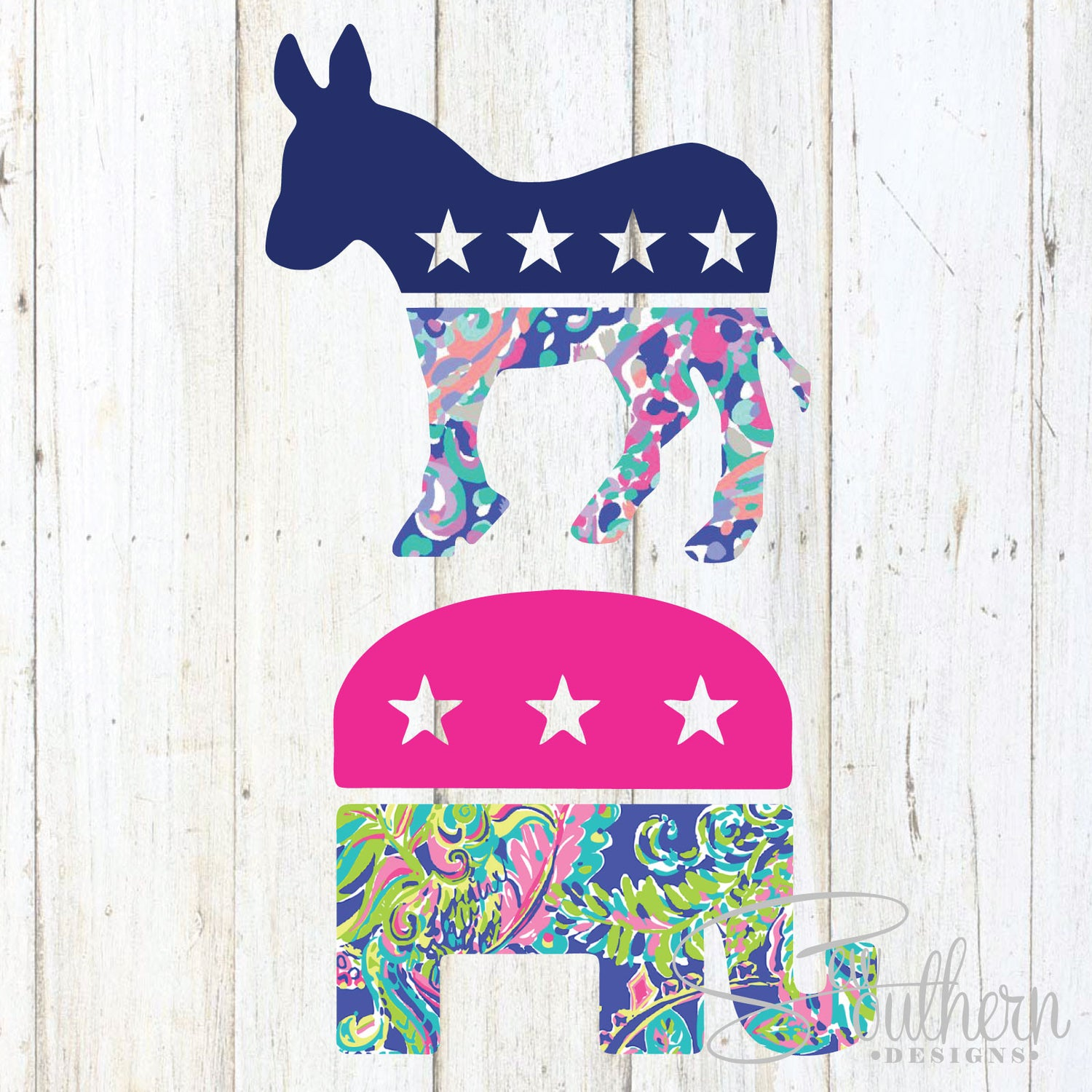 Lilly Political Party Decal