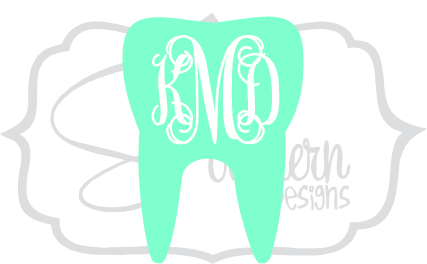 Tooth Monogram