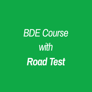 BDE Course (Available Virtually) with Road Test - RoadAware Oakville Driving School
