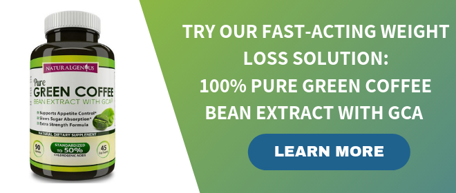 100% PURE GREEN COFFEE BEAN EXTRACT from Natural Genius