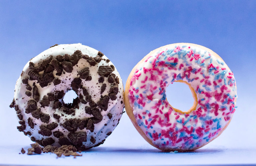 Donut side by side
