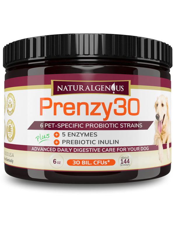 dog-probiotics-enzymes-inulin-digestive