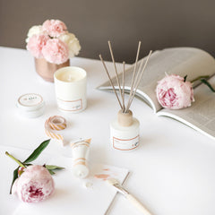 A.GO Atelier scented candles and diffusers range