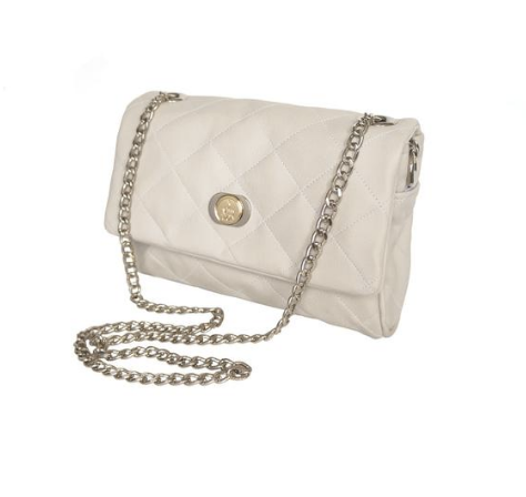 3 Wind Knots ivory chain shoulder bag