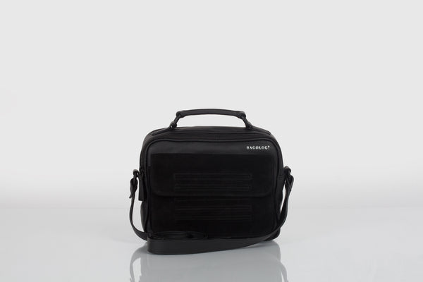 Small designer should bag in black by Bagology London for Kristina Goes West - 2