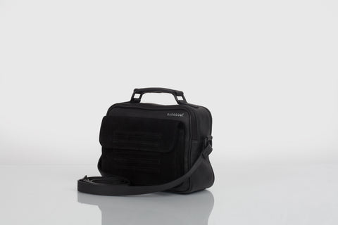 Small designer should bag in black by Bagology London for Kristina Goes West - 1