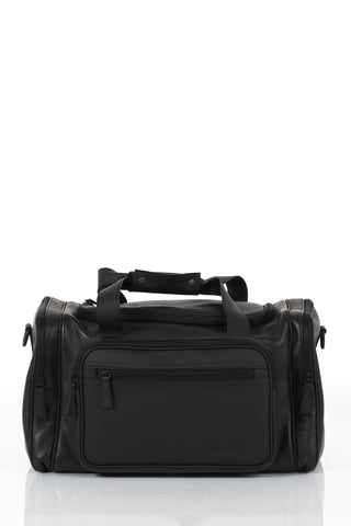 Black spacious travel bag by Bagology London | KRISTINAGOESWEST.COM - 1
