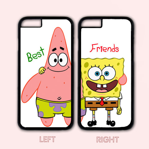 Spongebob and Patrick,Custom Case,iPhone 6+/6/5/5S/5C/4S/4,Samsung Galaxy S6/S5/S4/S3/S2