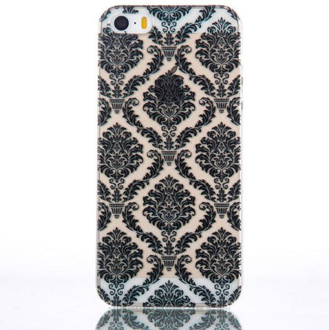 Lace Floral mobile phone case for iphone 5 5s SE 6 6s 6plus 6s plus + Nice gift   box!