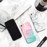 Imitation marble pattern for iphone 7 7plus 6 6s 6plus 6s plus 170113
