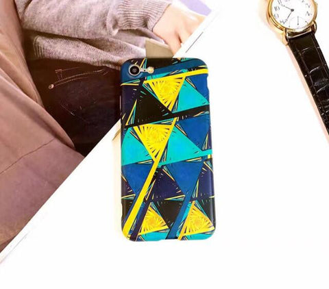 Colorful triangle for iphone 7 7plus 6 6s 6plus 6s plus 170113