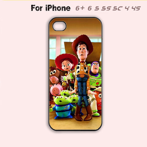 Toy Story Phone Case For iPhone 6 Plus For iPhone 6 For iPhone 5/5S For iPhone 4/4S For iPhone 5C-5 Colors Available