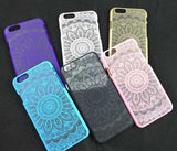 Fashion Vintage Lace Floral iPhone 7 7 Plus 5 5s iPhone 6 6s Plus Case Cover +Nice Gift Box !