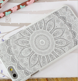 National wind totem sun flower mobile phone case for iphone 6 6s 6plus 6s plus + Nice gift box!