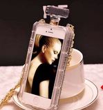 Luxury hanging perfume bottle  phone case for iphone 7 7 plus 8 8 plus 6 6s 6plus 6s plus + Nice gift box! -LJ-008