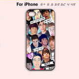 Nash Grier and Hayes Grier Cute Collage Phone Case iPhone 4 4s 5 5s 5c 6 + Cover-5 Colors Available