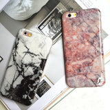 Glossy Granite Marble Phone Case Soft TPU Silicon Funda Cases for iPhone 6s 6 6Plus 6s Plus