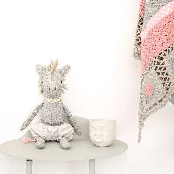 And The Little Dog Laughed - Alice Unicorn Softie