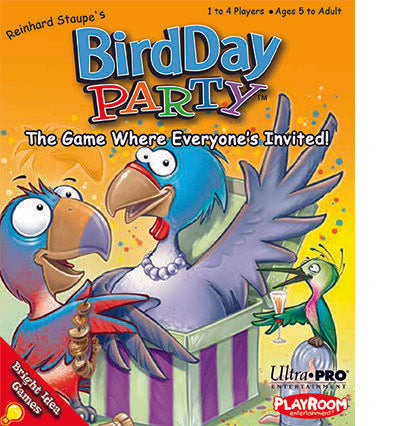 Bird Day Party Card Game