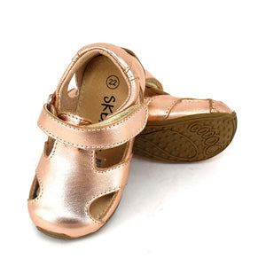 Skeanie Sunday Sandal - Rose Gold