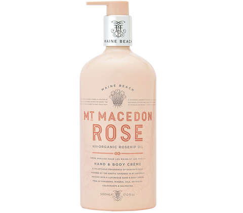 Maine Beach - Mt Macedon Rose Hand & Body Creme
