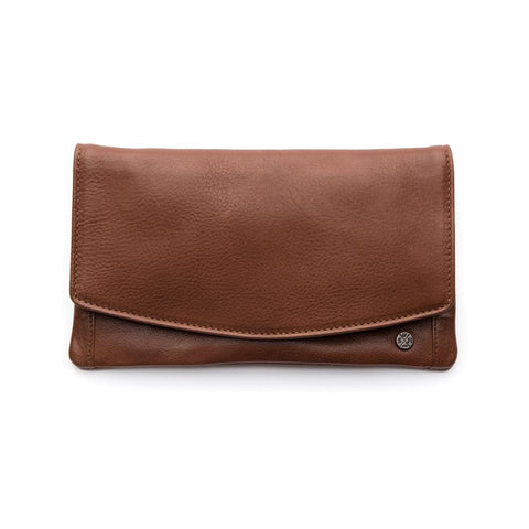 Stitch and Hide - Darcy Wallet (Clay, Plum, Coal)