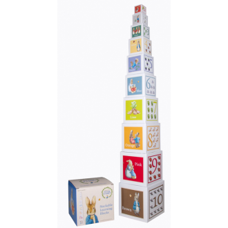 Beatrix Potter - Peter Rabbit Stackable Learning Building Blocks