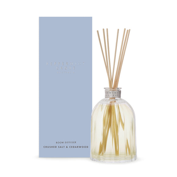 Peppermint Grove - Large Diffuser 350ml - Crushed Salt & Cedarwood