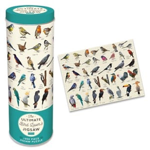 The Ultimate Jigsaw In A Tin - 1000 Piece - Bird Lovers