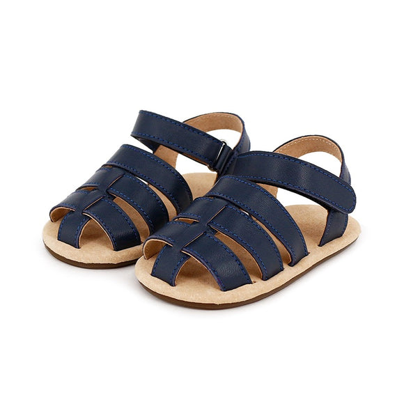 Skeanie Pre Walker Leather Ziggy Sandals