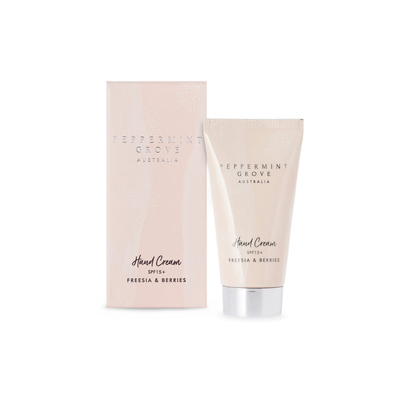 Peppermint Grove - Hand Cream Tube 75ml - Freesia & Berries