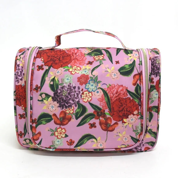 Tonic - Essential Hanging Cosmetic Bag - Romantic Garden