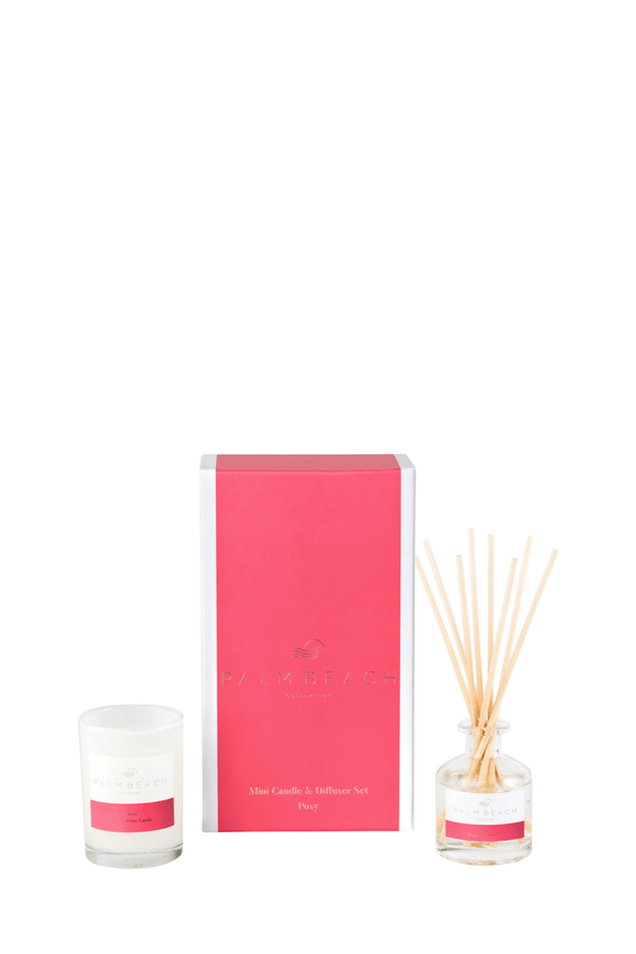 Palm Beach Posy Mini Candle & Diffuser Pack