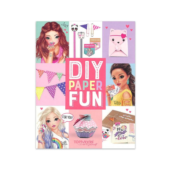 Top Model - DIY Paper Fun Activity Book